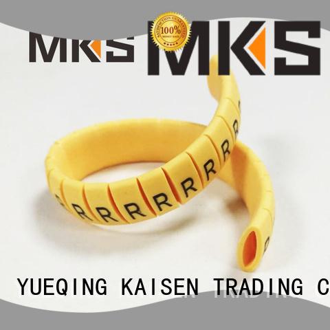 MKS oil resistance cable marker design for plants