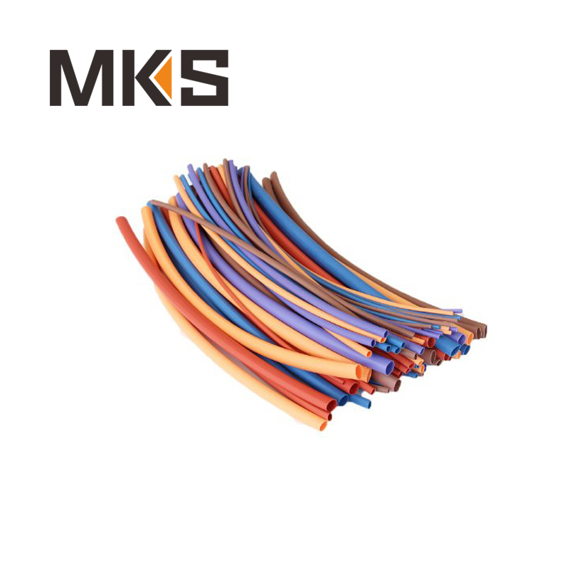 Wholesale kinds of color full specification shrinkable ratio 2:1 single wall heat shrink tube