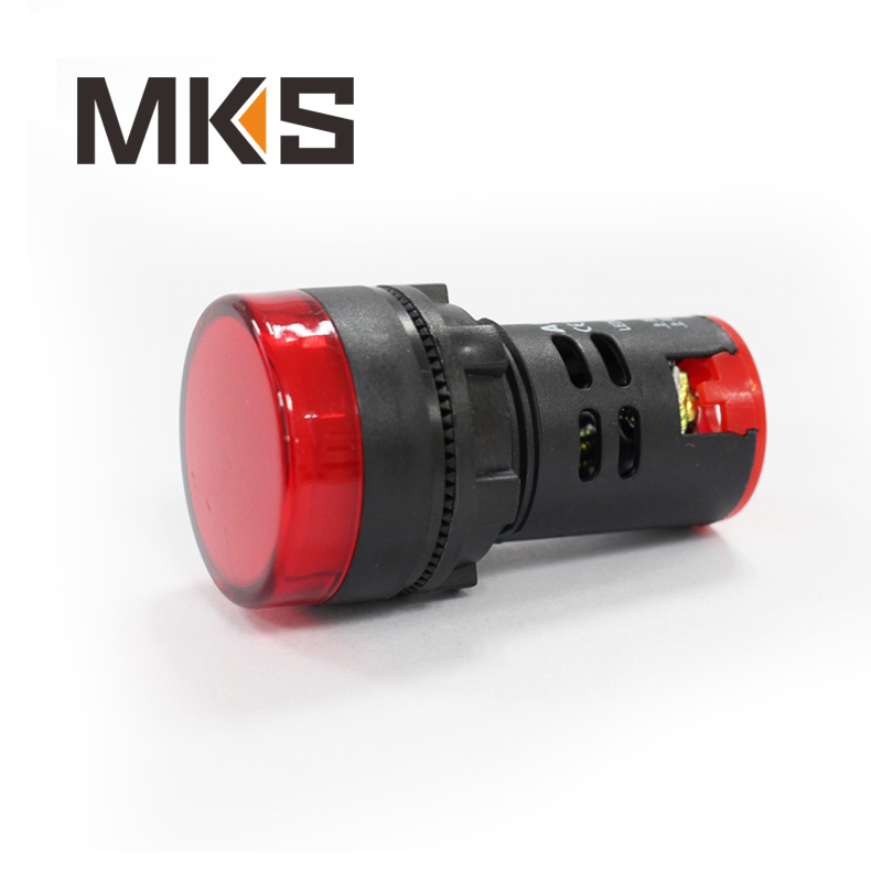 22mm pilot lamp, 220v red pilot lamp indicator