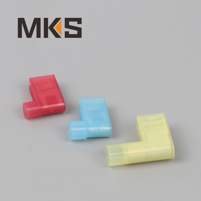 Nylon insulated flag female quick disconnect wire terminal