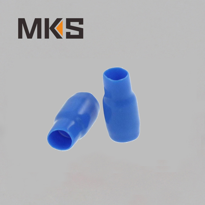Red Blue Black Yellow Green Grey Colors PVC material Terminal cover Sleeve