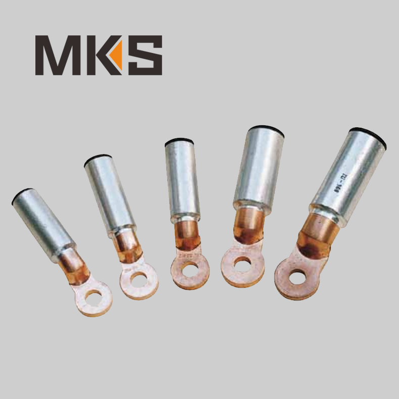 DTL-2 copper aluminium bimetal cable lugs types / cable lug size / cable terminal lug