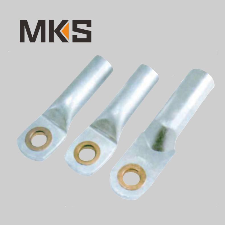 AL-CU copper aluminum bimetal terminal lug in cable clipping