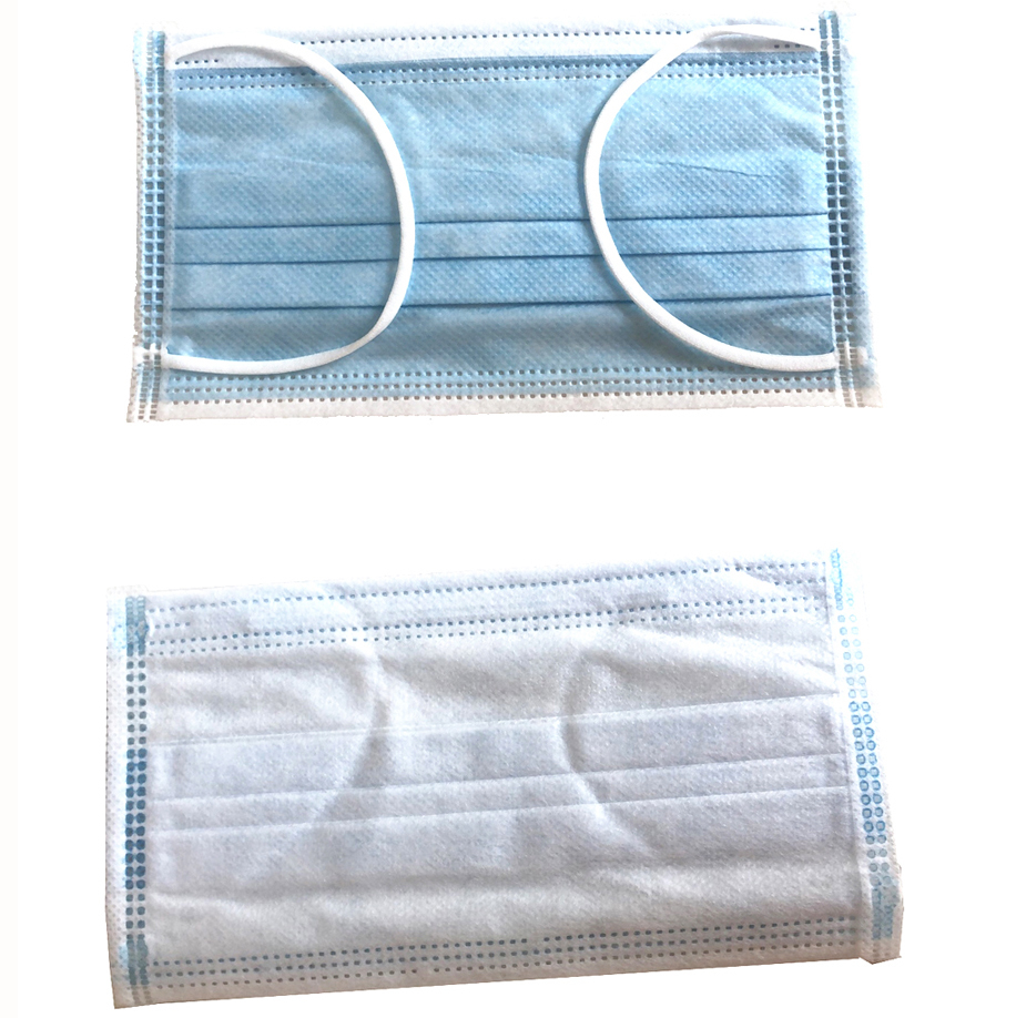 Ready Stock To Ship Cheap Dust Protection Disposable Medical Face Mask For Oxygen Breathing With Air