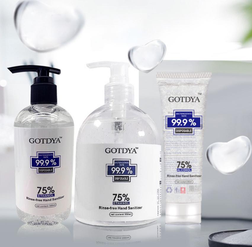 300ml OEM Custom Logo Manufacturers Portable Waterless Instant Hand Sanitizer
