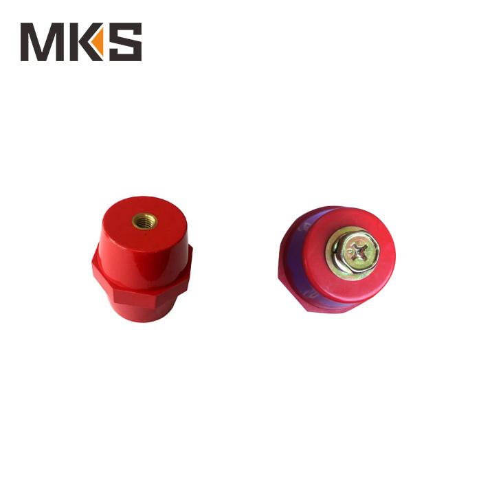 SM40*8 brass low voltage busbar insulator without bolt
