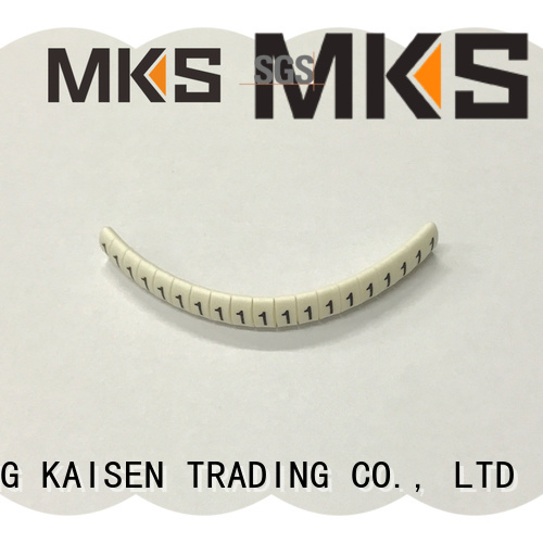 MKS cable tag design for industrial