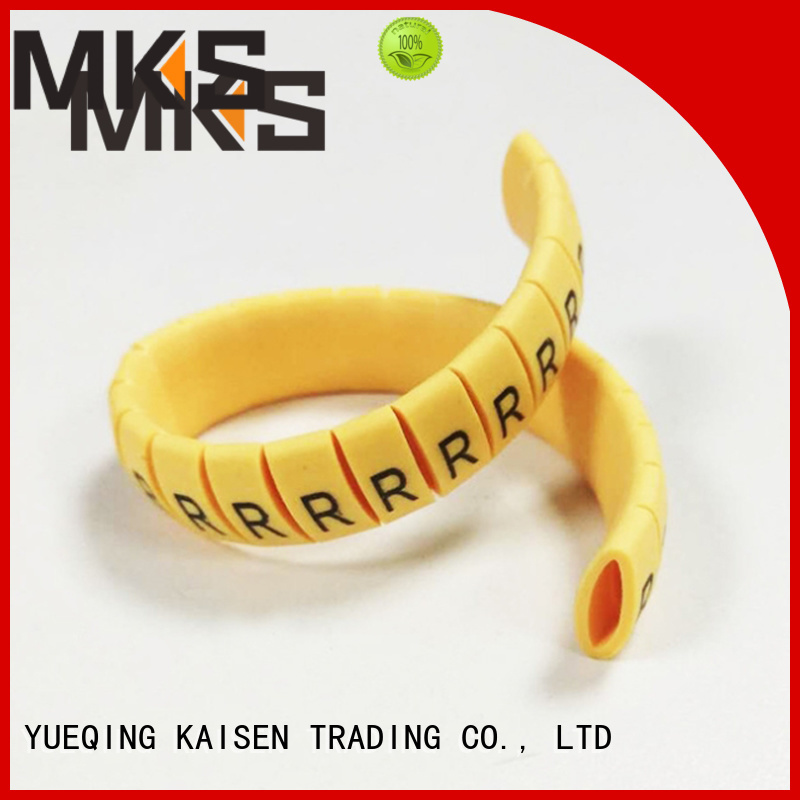MKS delicate cable marker wholesale for industrial