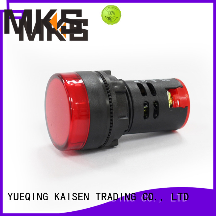 MKS indicator light design for washing machine
