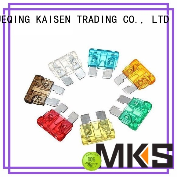 MKS precise blade fuse supplier for industrial