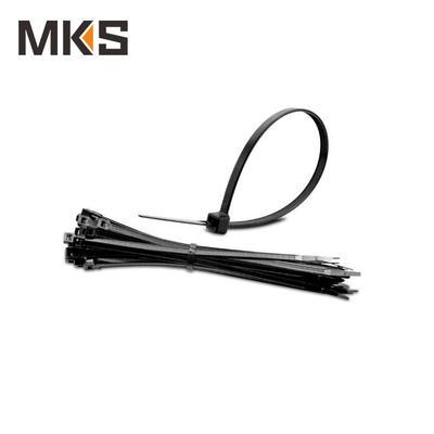 Nylon self-locking cable ties black color 3.6x150mm