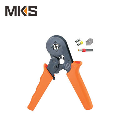 HSC8 6-4 Mini type self-adjustable square crimping plier for cord end ferrules and terminals