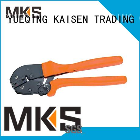 MKS wire crimper for cable terminals for wire presser modules