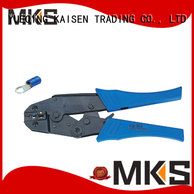 MKS wire crimper for insulated connectors