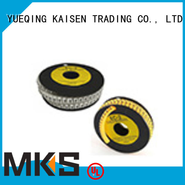 MKS cable marker supplier for factory