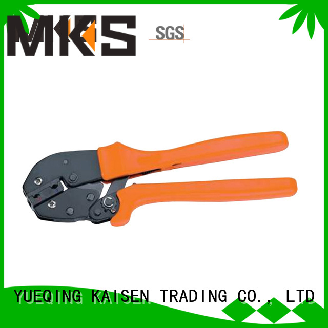 MKS stable cable crimper for insulated connectors