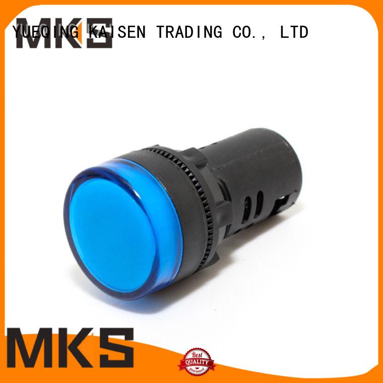 MKS signal light design for washing machine
